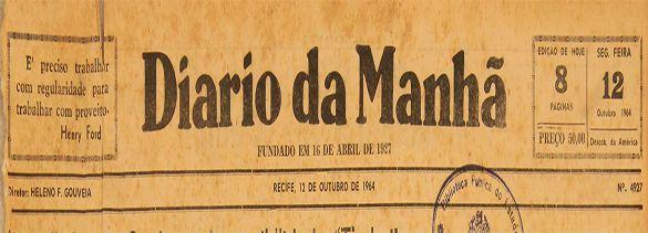 Coleção do Jornal Diário da Manhã (1927-1985)
